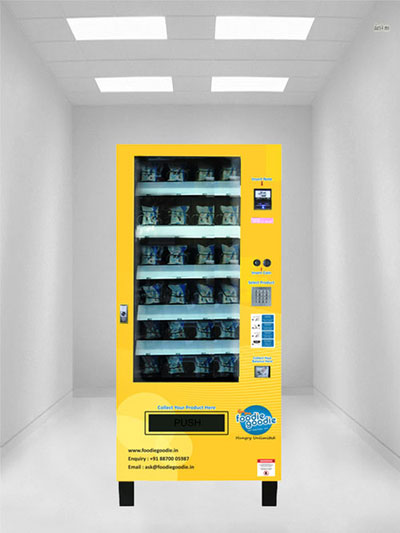 Milk Pouch vending Machines