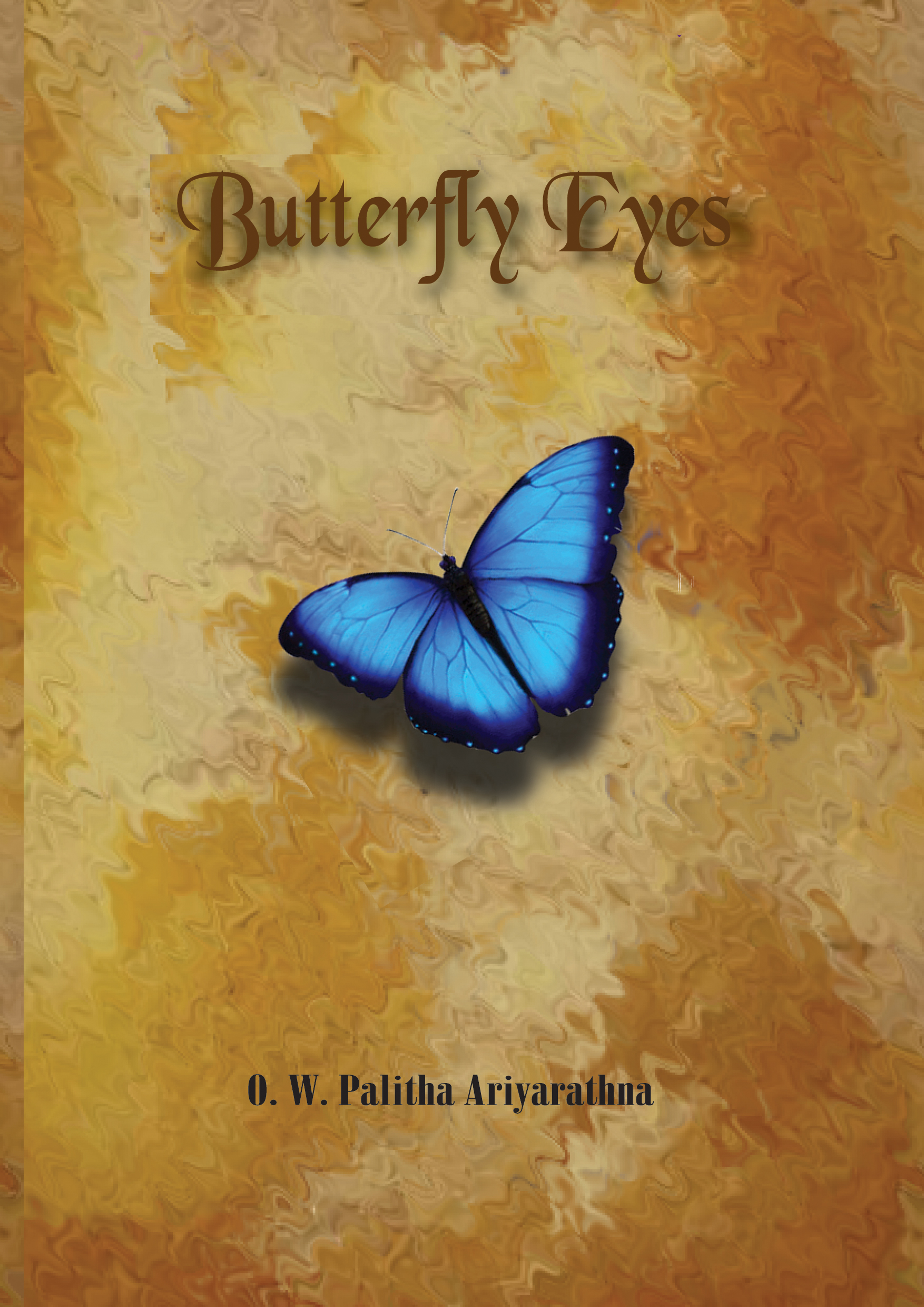 Butterfly Eyes Book Front Cover