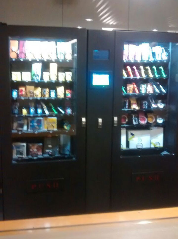 Microsoft India   Stationary Vending Machine