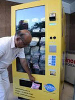 Milk Pouch Vending Machine Small